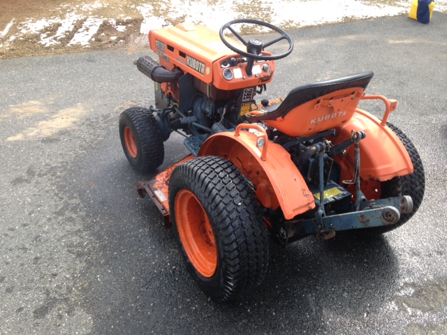 Kubota Belly Mower Parts : Newsearch equipment salvage kubota b with belly