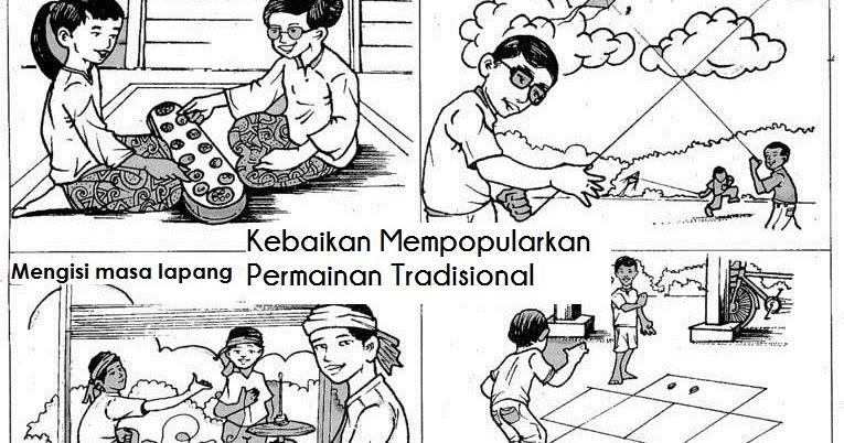 Galeri Cikgu Hamidah Kebaikan Mempopularkan Permainan Tradisional