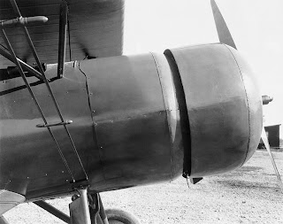 curtiss airplane cowling
