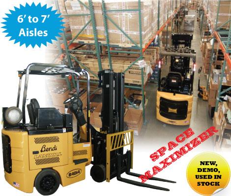 Buy Raymond forklift in bigjoe | Forklift Rentals San