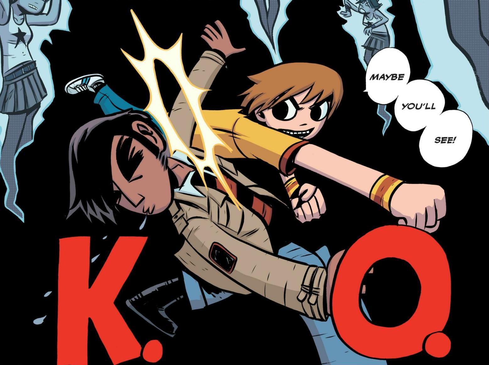 Read online Scott Pilgrim comic -  Issue #1 - 141