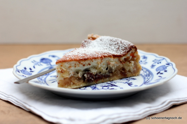 Apfel Quark Kuchen Schoner Tag Noch Food Blog Mit Leckeren
