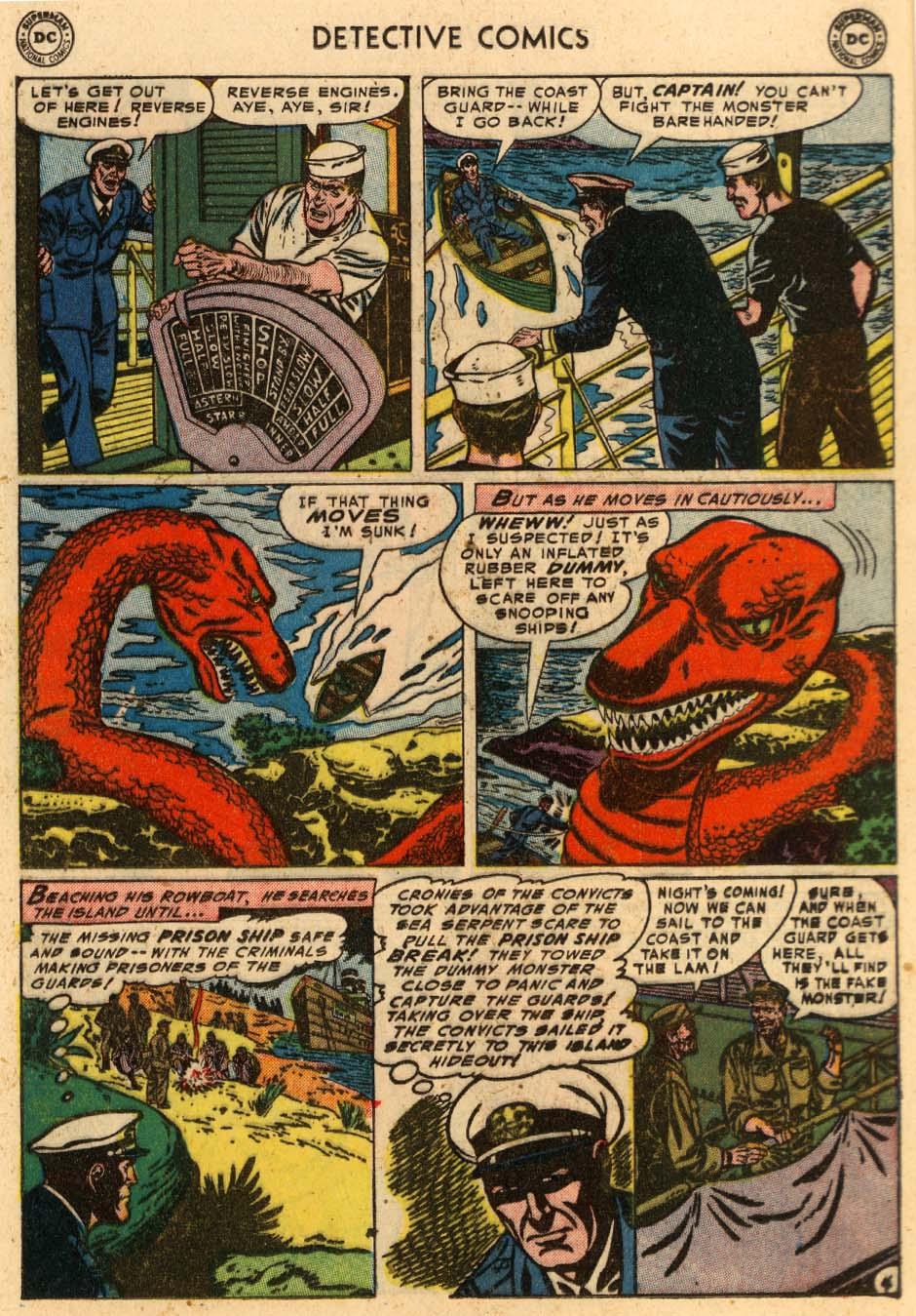Read online Detective Comics (1937) comic -  Issue #207 - 23