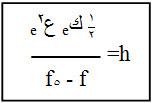 ميل الخط المستقيم المائل يعطي قيمة ثابت بلانك
