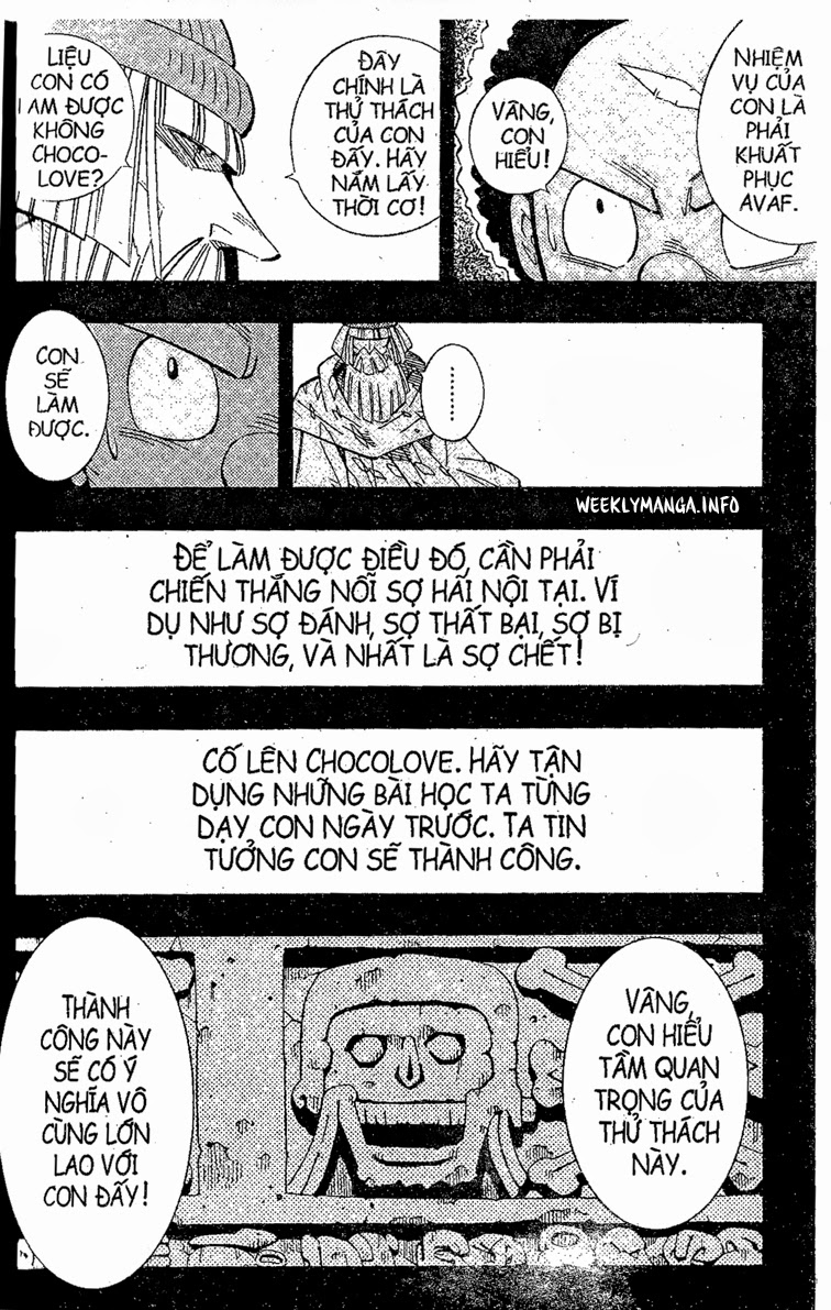Shaman King [Vua pháp thuật] chap 205 trang 5