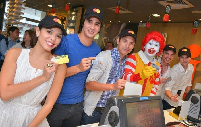 McDonald's with MasterCard PayPass
