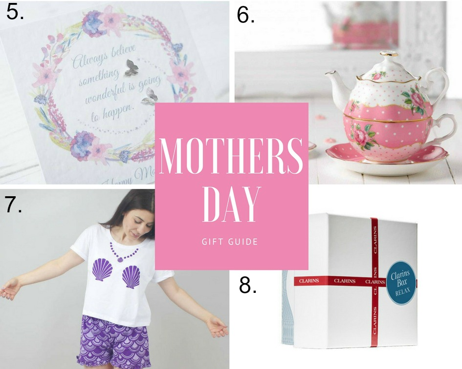 mothers day gift guide personalised gifts