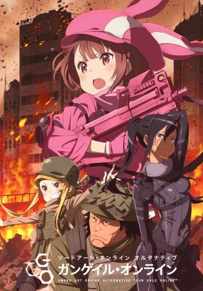 Sword Art Online Alternative: Gun Gale Online Episode 1-12 Subtitle Indonesia MP4 480p