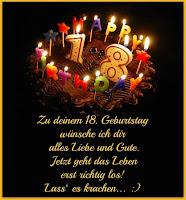 Zum 18 Geburtstag Zitate Alles Lustige Geburtstag Wunsche