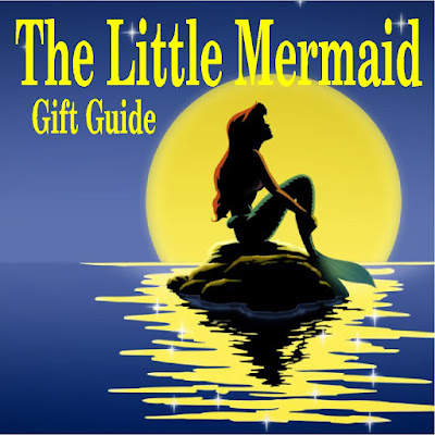 if you are a Little Mermaid fan, or know someone who is, check out some of these fun items that I found around the web that would make great Christmas gifts or Birthday gifts for a Little Mermaid fan.