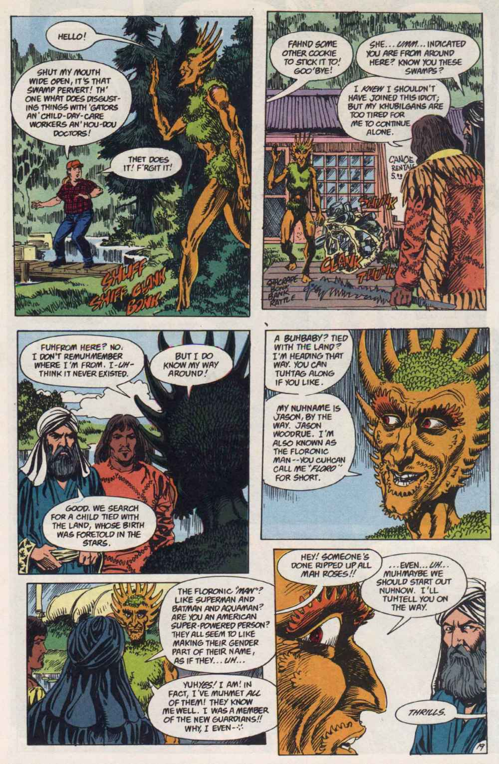 Swamp Thing (1982) Issue #91 #99 - English 18