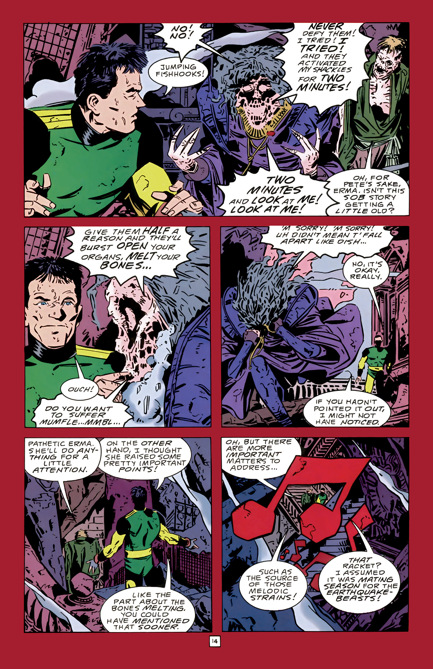Legion of Super-Heroes (1989) 14 Page 14