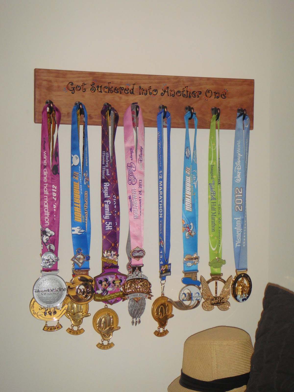 sarah runs a lot: New Medal Holder