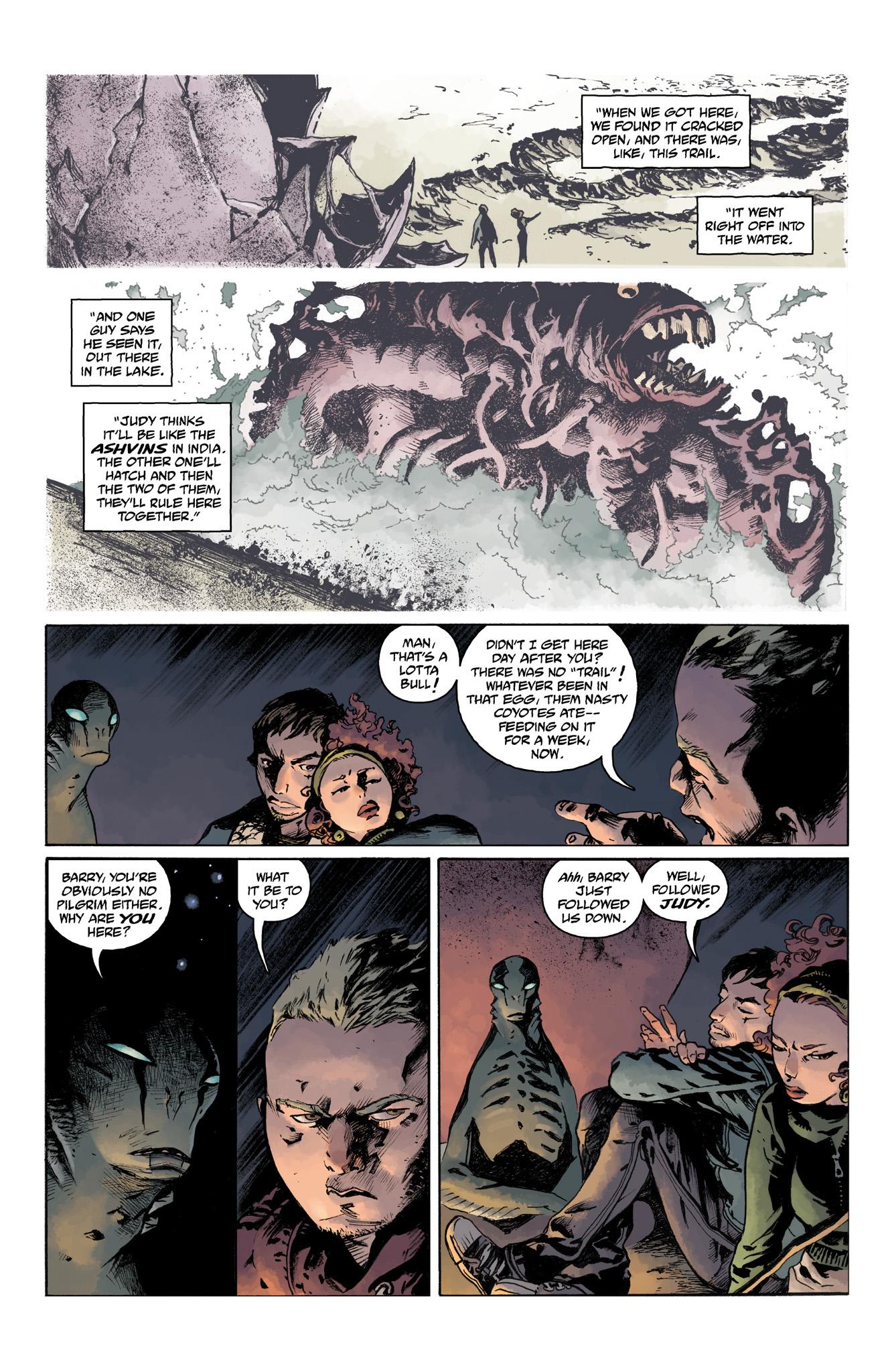 Read online Abe Sapien comic -  Issue #4 - 16