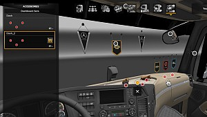 More interior slots for Mercedes MP4