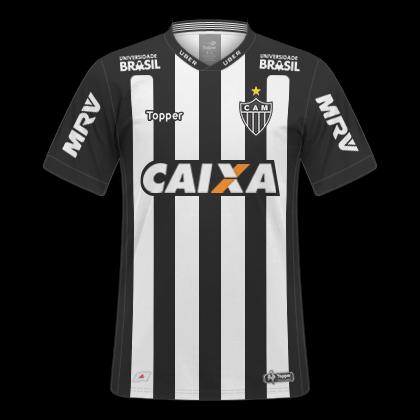 Gt Camisas Camisas Atletico Mg 2018 2019 Home Away E Third
