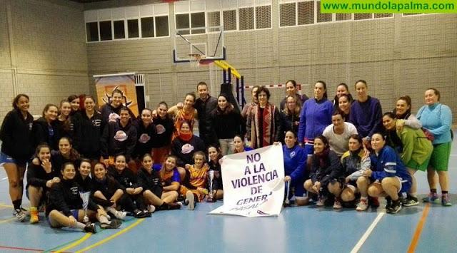 La Copa Insular de Baloncesto promueve la implicación del deporte contra la violencia de género
