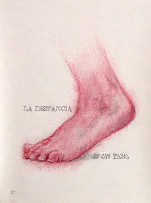 """distancia"",""ciencia"",""dibujo"",""pie"",""draw"",""foot"",""drawing"",""ilustración"",""ilustracion"",""illustration"",""arte"",""art"", ""madrid"",Bolígrafo"",""boli"",""pluma"",""Pen"""