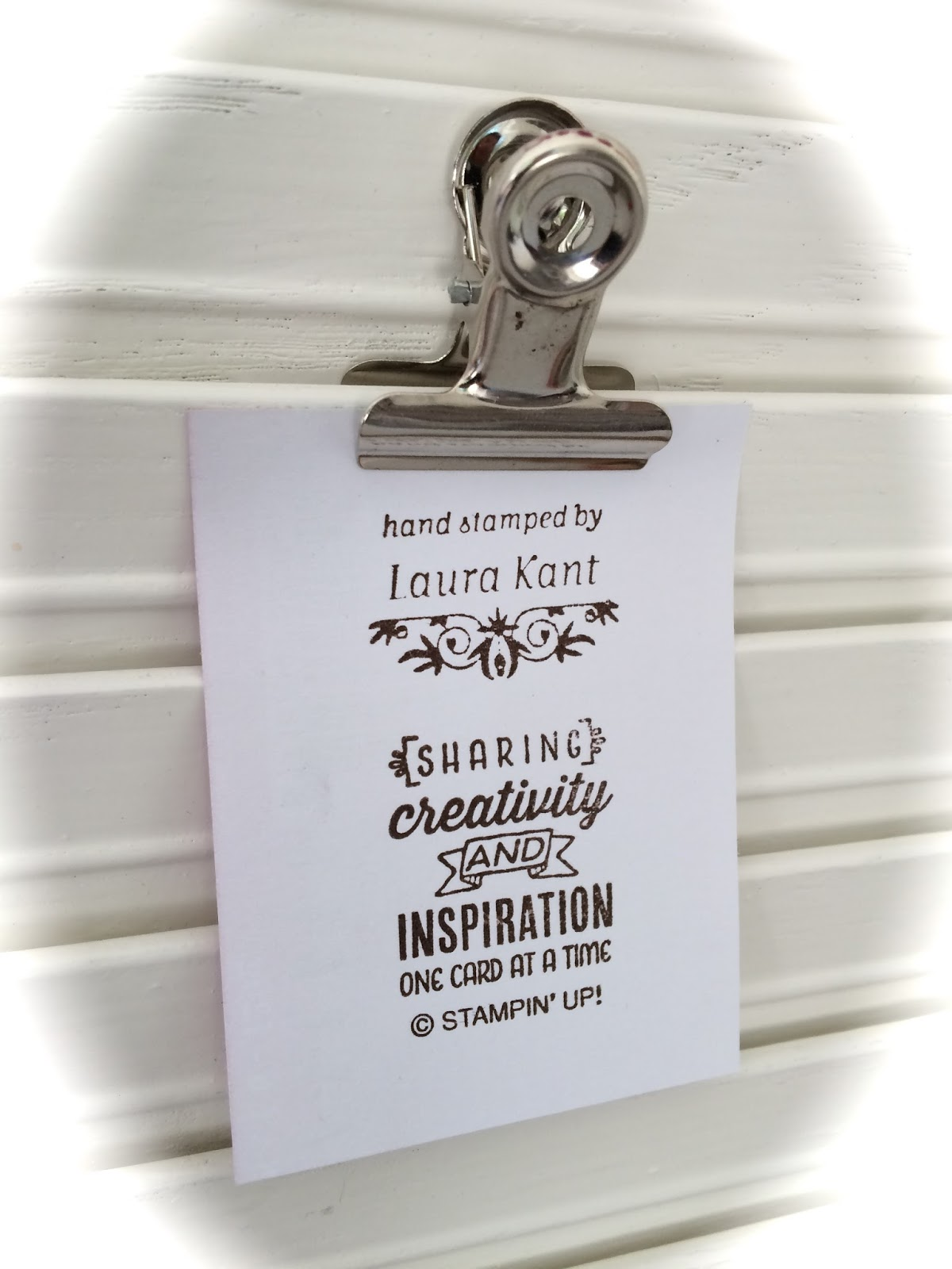 Laura's creative moments: one wild ride   stampin' up!