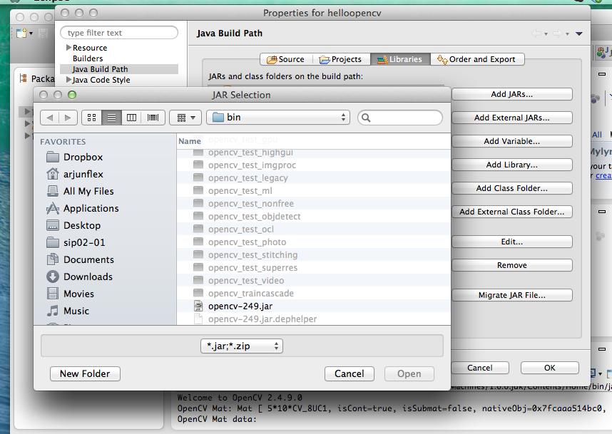 OpenCV 2 4 9,Java, Eclipse Set up | Node JS Tutorials