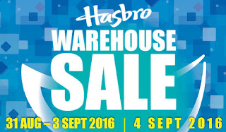 Hasbro Warehouse Sale 2016