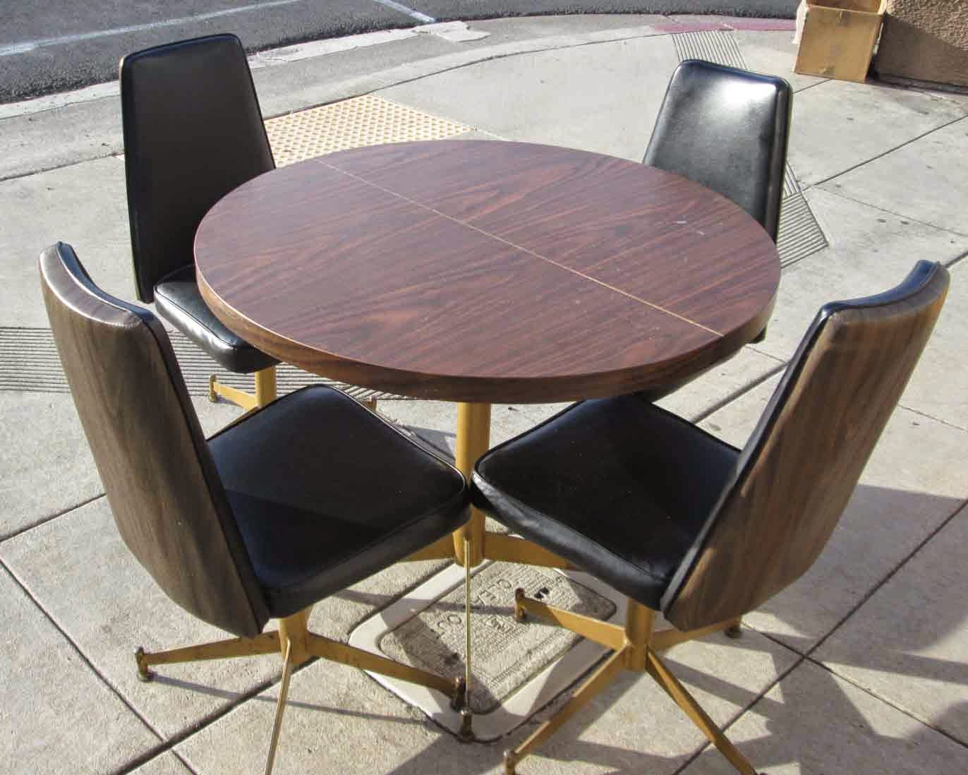 Formica Table And Chairs Uhuru Furniture And Collectibles Sold Retro Formica Table W
