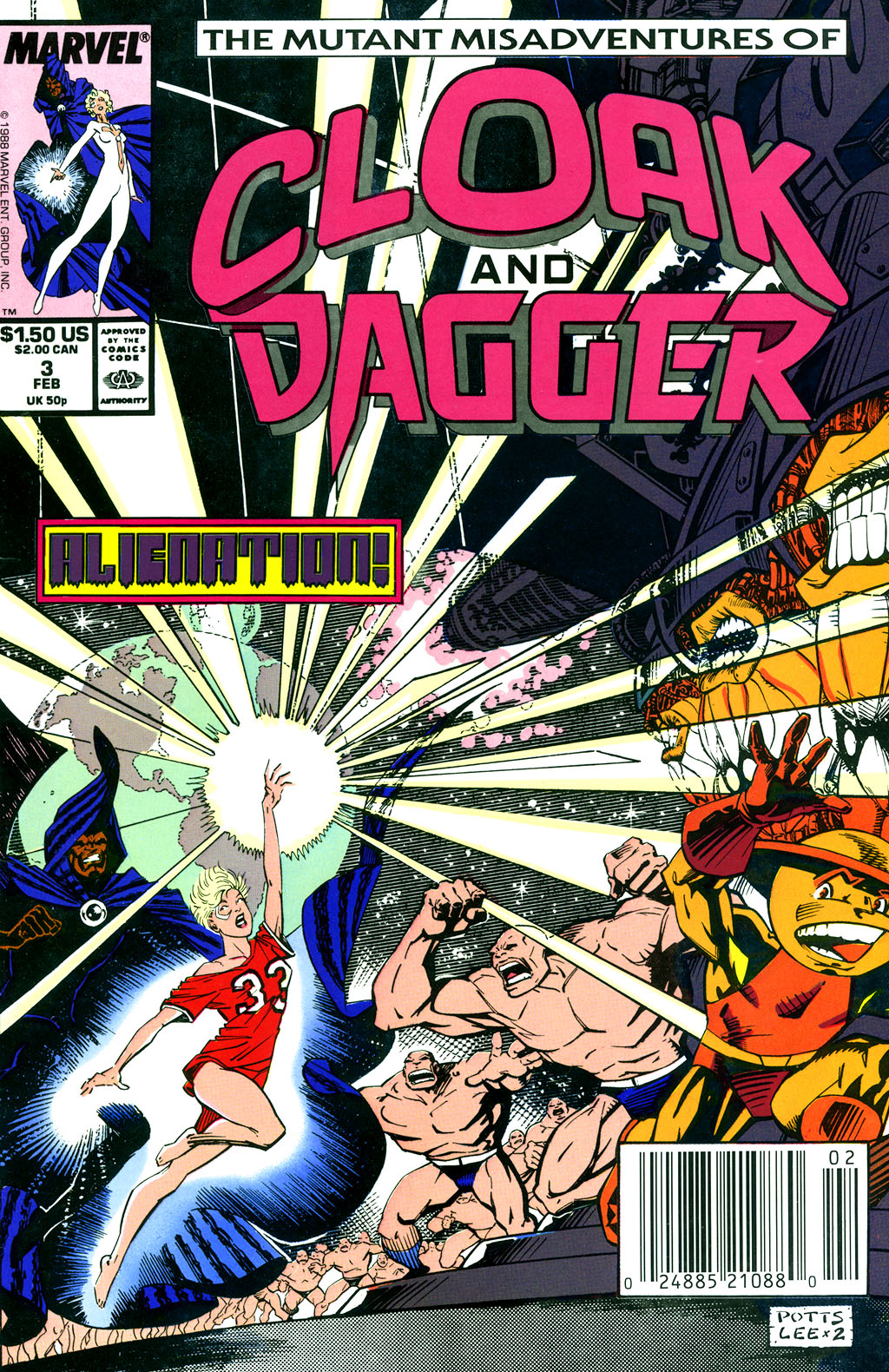 Cloak and Dagger (1990) 3 Page 1