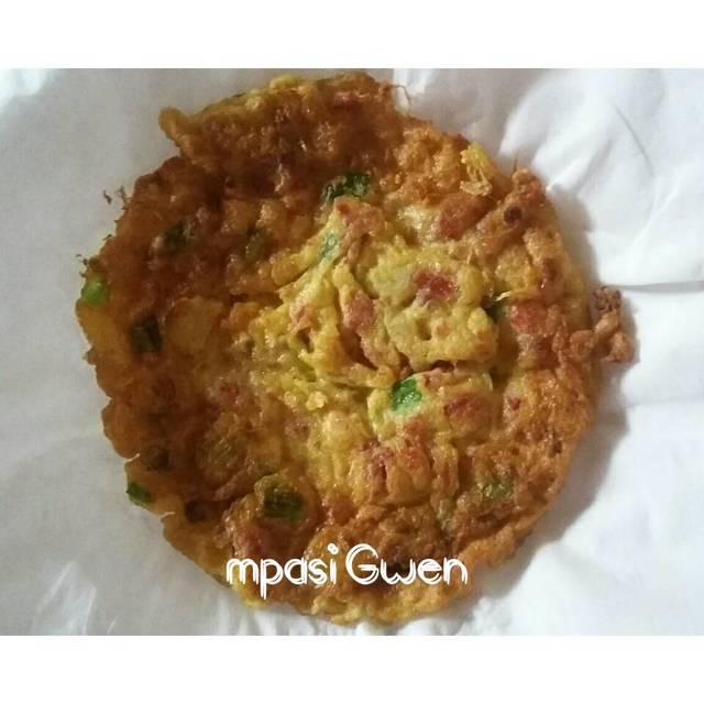 Resep telur dadar kornet ala rumah makan ciwidey