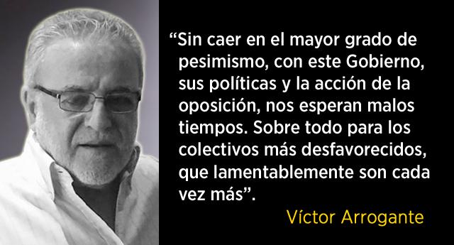 Víctor Arrogante