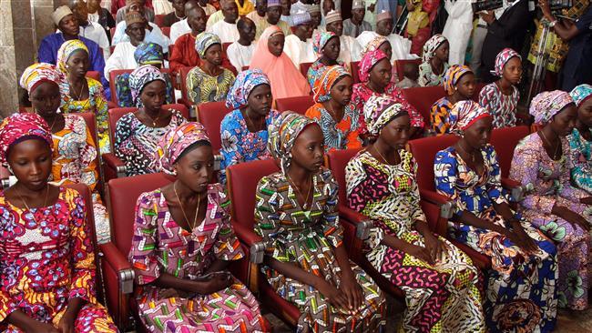 Dozens of Nigerian Chibok schoolgirls abducted by Boko Haram released