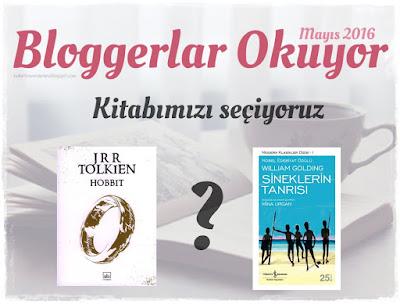 Bloggerlar Okuyor Mayıs 2016 kitabını seçiyoruz!