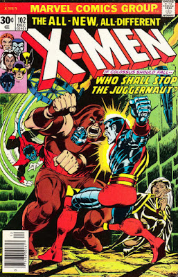X-Men #102, the Juggernaut