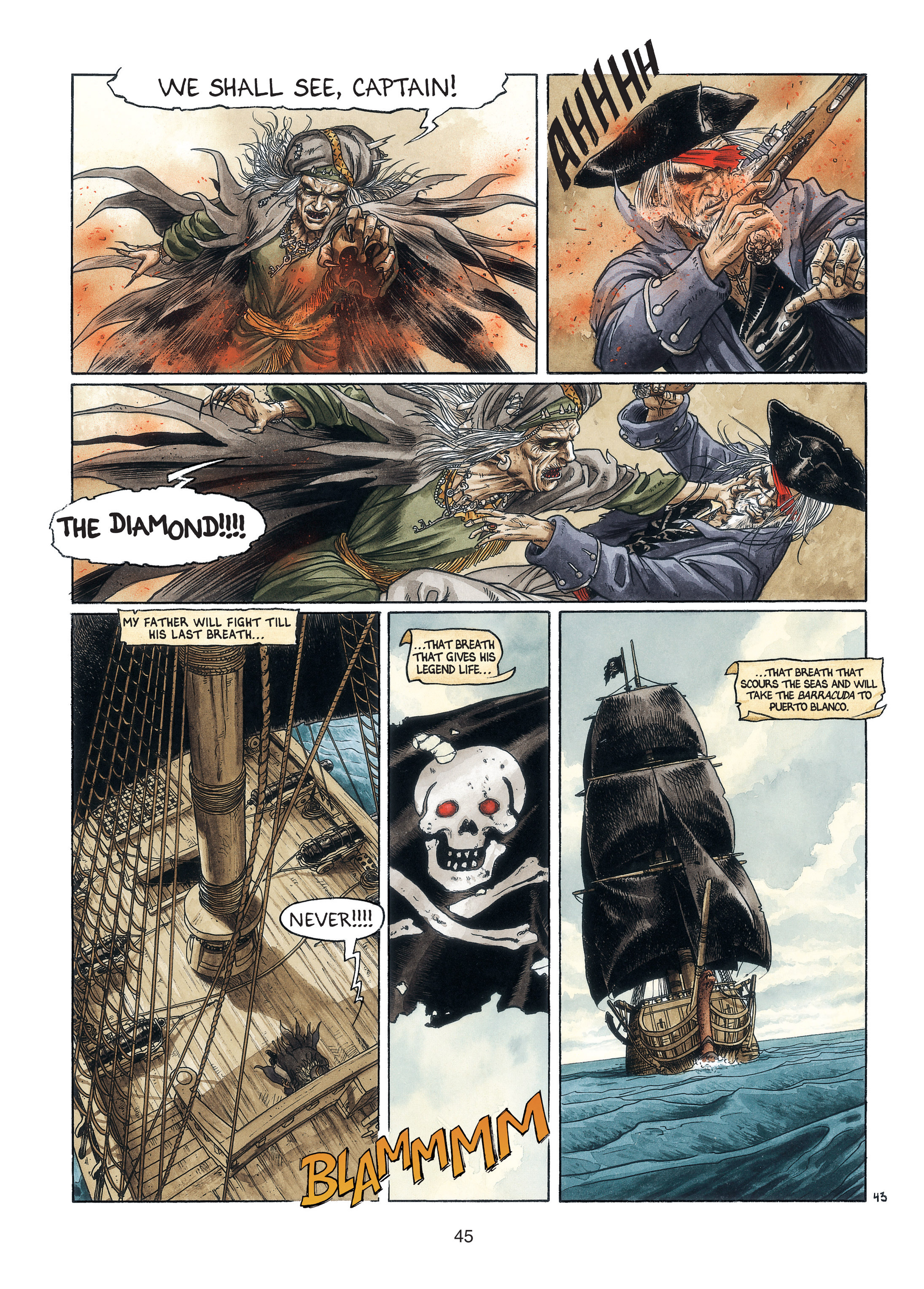 Read online Barracuda comic -  Issue #3 - 46