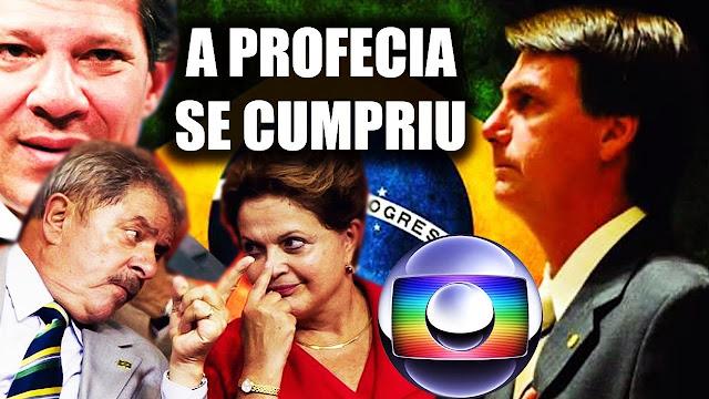 VEJA O VÍDEO: PROFECIAS de anos atrás para o BRASIL se Cumpriram em 2018 e 2019