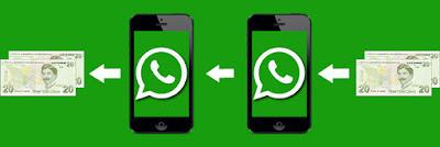 whatsapp para transferi