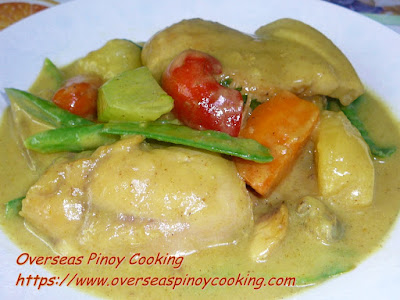 Pork and Chicken Curry Dish