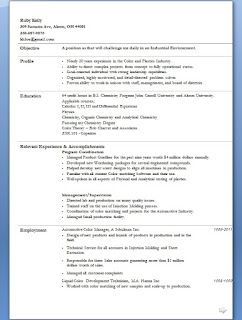 analytical quality control technician resume format in