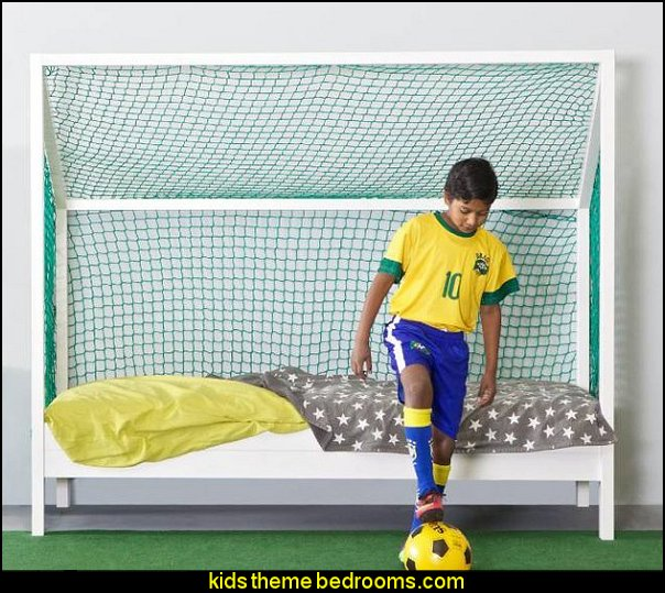For The Soccer Enthusiast In Your Home, This Is The Perfect Bed For Them.