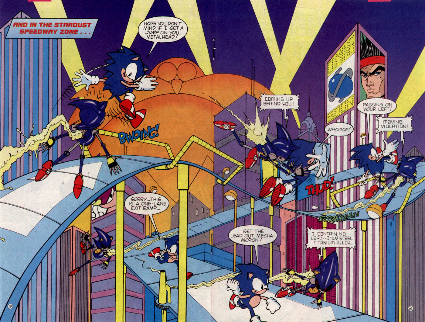 Read online Sonic The Hedgehog comic -  Issue #25 - 16
