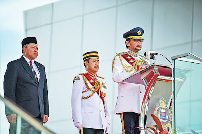HM Sultan Brunei: Boost Training Standards at Officer Cadet School