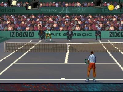 街機:終極網球(Ultimate Tennis)+Cheat作弊碼!
