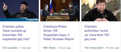 "chechnya: Trust Putin? Fake News? ""Clean Sweep"" to kill 100 Gays Chechnya? Trust Trump? You're Next"