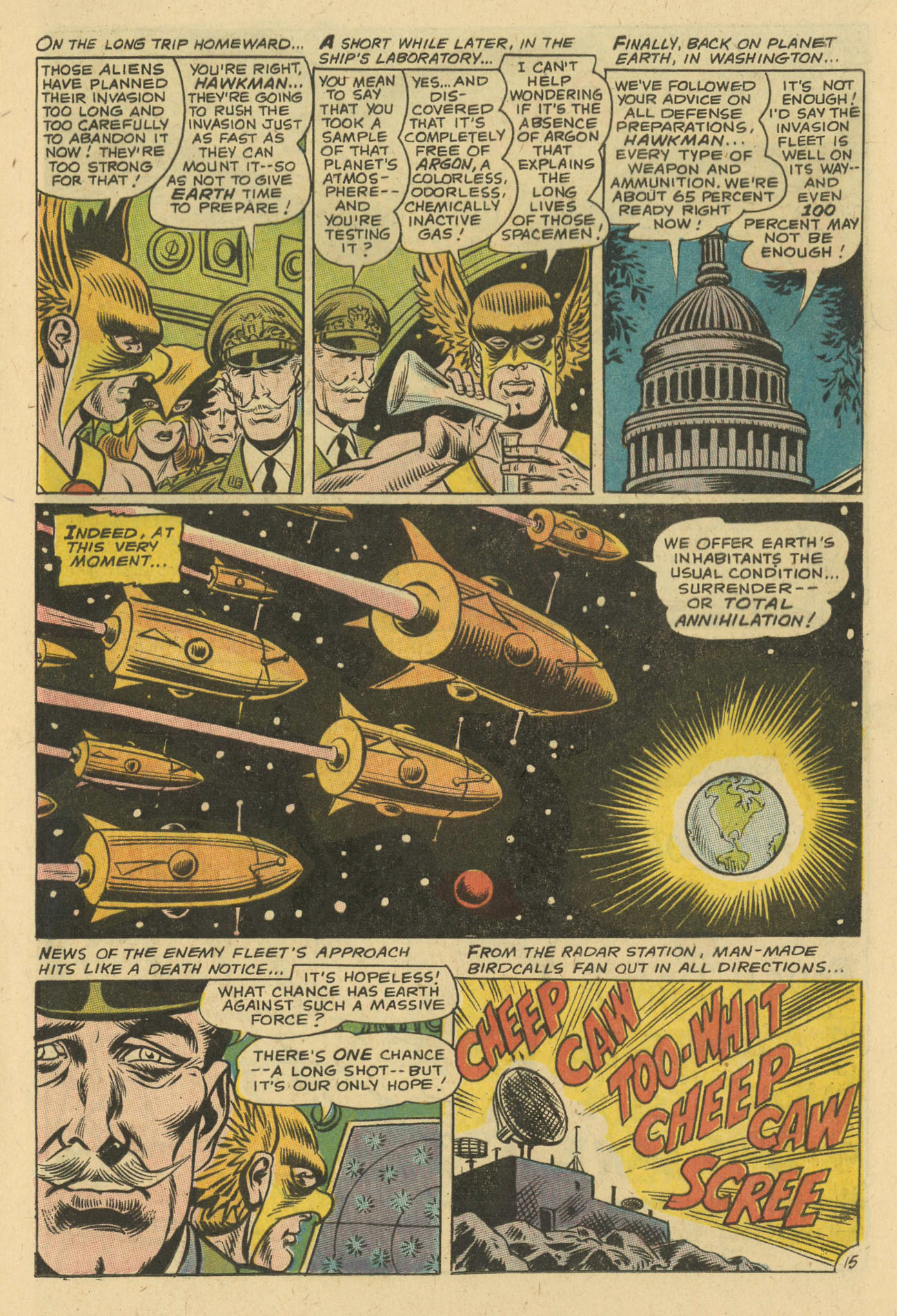 Hawkman (1964) issue 24 - Page 17