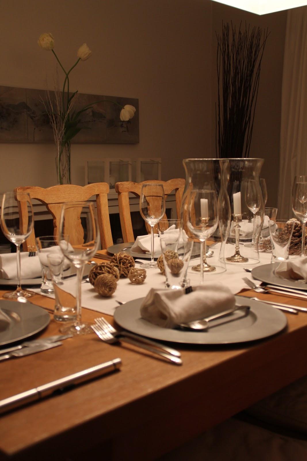 Tischdekoration Deko Hoch Drei