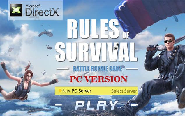 Rules of Survival PC sudah mendukung DirectX, Atasi Lag dan Error OpenGL 4.0