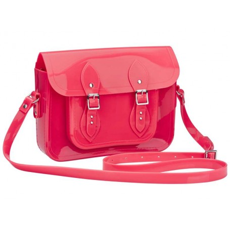 melissa-satchel-the-cambridge-satchel-rosa-neon-portinhola - belanaselfie