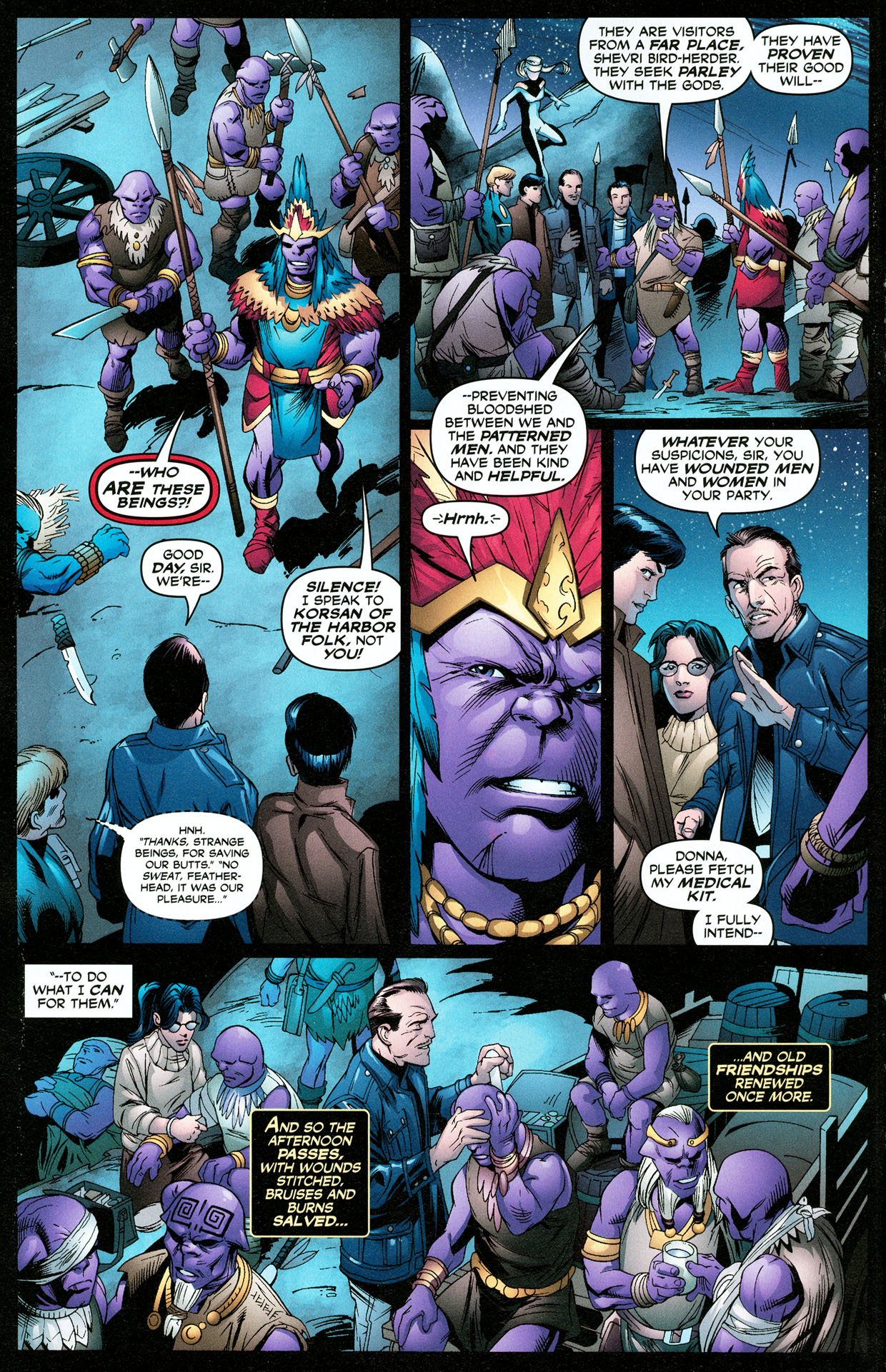 Read online Trinity (2008) comic -  Issue #32 - 11