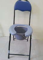 Open Front Commode Chair