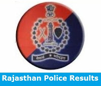 Rajasthan Police Results