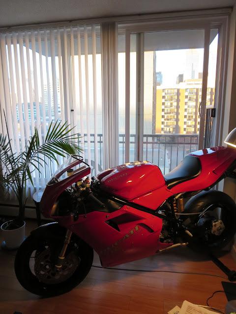 Ducati 916 Living Room